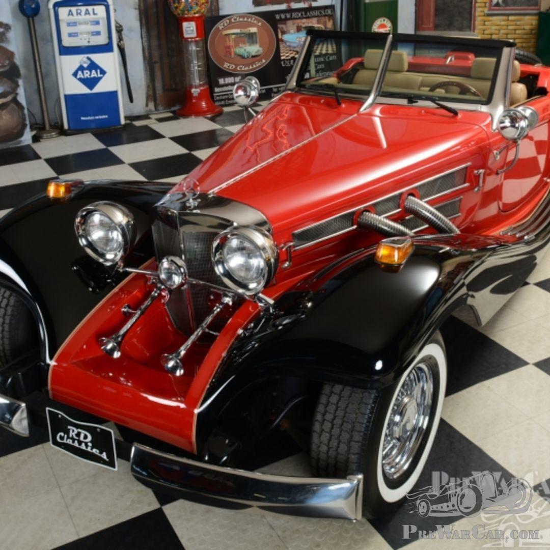 Car Mercedes (-Benz) 500K Replica 1935 For Sale